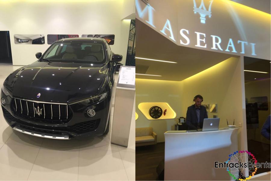 Maserati lancement levante
